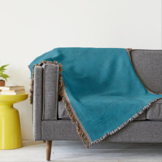 Cobertor Olhar de veludo da cor do azul de oceano