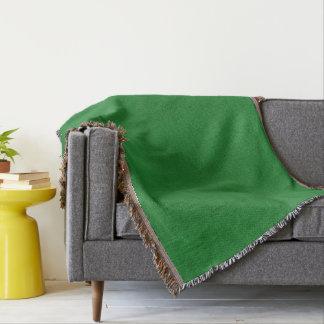 Cobertor Olhar de veludo da cor verde do casino