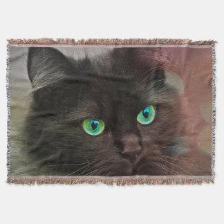 Cobertor Olhos verdes do gato