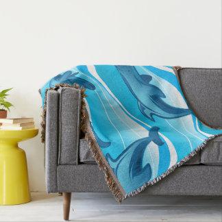 Cobertor Ondas de salto do golfinho