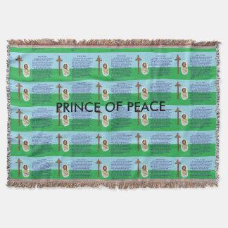 Cobertor Oração para a paz