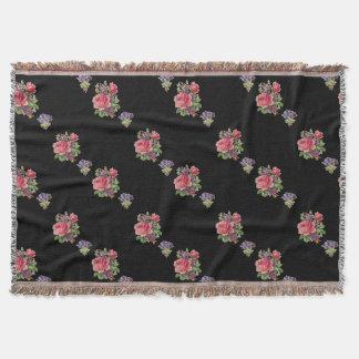 Cobertor Os rosas cor-de-rosa feitos sob encomenda,