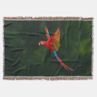 Cobertor Papagaio em vôo