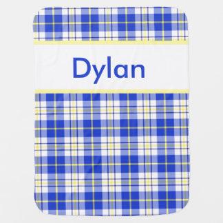Cobertor Para Bebe A cobertura personalizada de Dylan