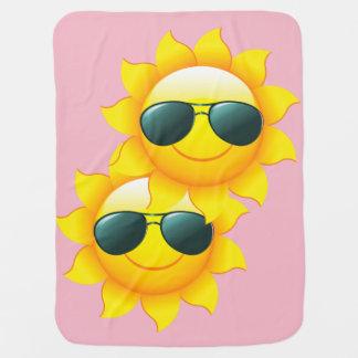 Cobertor Para Bebe Amigos de Sun