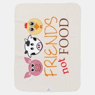 Cobertor Para Bebe Amigos, não comida