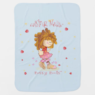 Cobertor Para Bebe Aumentando a cobertura Bossy das botas de Maddie