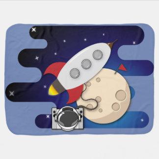 Cobertor Para Bebe Aventuras do espaço