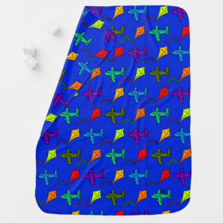 Cobertor Para Bebe Aviões & papagaios III