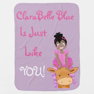Cobertor Para Bebe Azul de ClaraBelle & cobertura do bebê de Ford