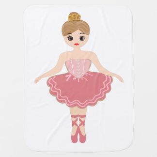 Cobertor Para Bebe Bailarina, minha princesa pequena!