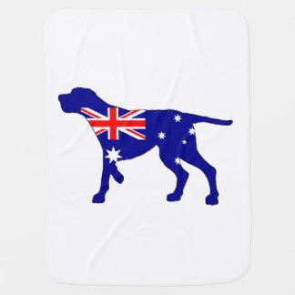 Cobertor Para Bebe Bandeira australiana - Coonhound de Redbone