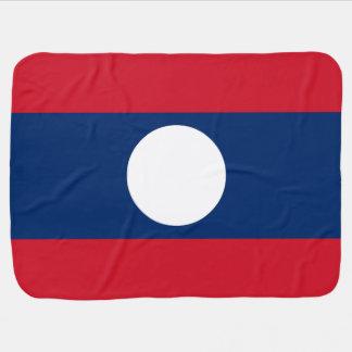 Cobertor Para Bebe Bandeira de Laos