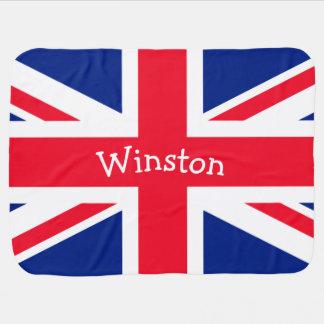 Cobertor Para Bebe Bandeira patriótica britânica BRITÂNICA de Union