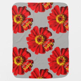 Cobertor Para Bebe Bebê de NiCK DAViD - flower power Blankie