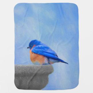 Cobertor Para Bebe Bluebird