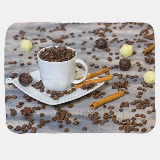 Cobertor Para Bebe Café e especiarias