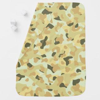 Cobertor Para Bebe Camuflagem disruptiva do deserto