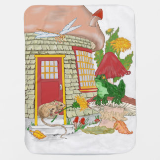 Cobertor Para Bebe Casa do rato