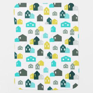 Cobertor Para Bebe Casas minúsculas