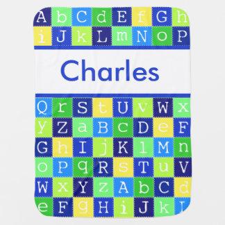 Cobertor Para Bebe Charles personalizou a cobertura