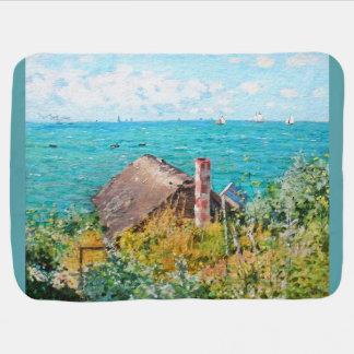 Cobertor Para Bebe Claude Monet a cabine em belas artes do