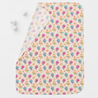 Cobertor Para Bebe Cobertura bonito do bebê dos pintinhos