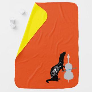 Cobertor Para Bebe Cobertura clássica do bebê da doninha