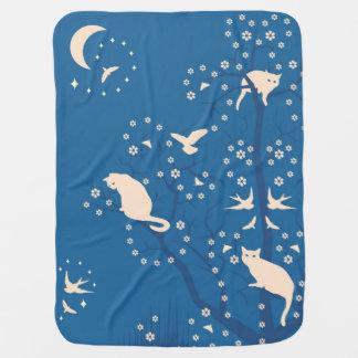 Cobertor Para Bebe Cobertura crepuscular do bebê dos Tomcats