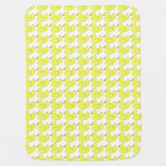 Cobertor Para Bebe Cobertura de borracha amarela de Duckies do pato