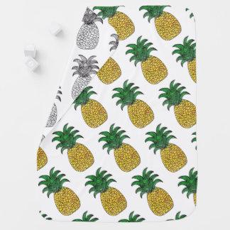 Cobertor Para Bebe Cobertura do abacaxi