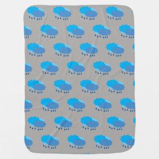 Cobertor Para Bebe Cobertura do bebê da nuvem
