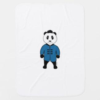 Cobertor Para Bebe Cobertura do bebê da panda de Kungfu por Mahieu