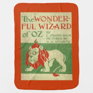 Cobertor Para Bebe Cobertura do bebê de mágico de Oz do leão