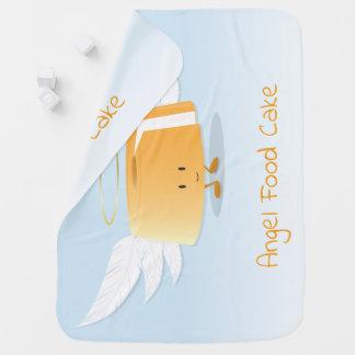 Cobertor Para Bebe Cobertura do bebê do bolo de anjo  