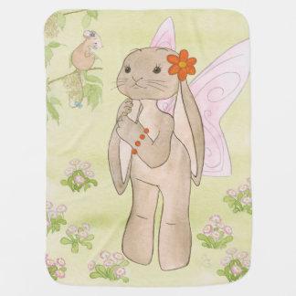 Cobertor Para Bebe Cobertura do bebê do coelho