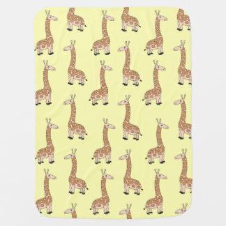 Cobertor Para Bebe Cobertura do bebê do girafa