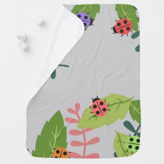 Cobertor Para Bebe Cobertura do bebê do joaninha para meninos e
