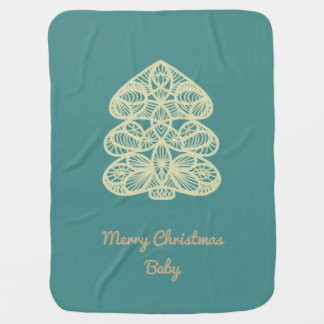 Cobertor Para Bebe Cobertura do Feliz Natal