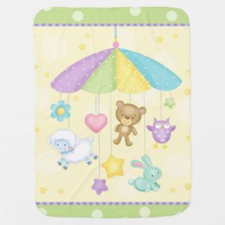 Cobertor Para Bebe Cobertura do móbil do bebê
