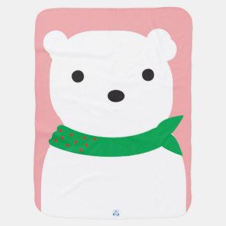 Cobertor Para Bebe Cobertura do urso polar do Natal