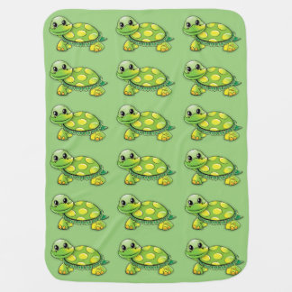 Cobertor Para Bebe Cobertura doce do bebê da tartaruga