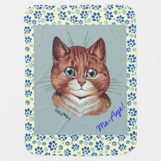 Cobertor Para Bebe Cobertura escocesa da independência dos gatos de