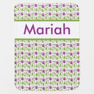 Cobertor Para Bebe Cobertura personalizada da íris de Mariah