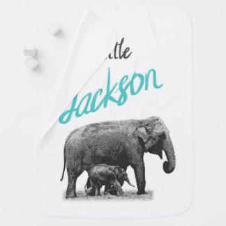 """Cobertor Para Bebe Cobertura personalizada do bebé """"pouco Jackson """""""