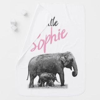 """Cobertor Para Bebe Cobertura personalizada """"Sophie pequeno """" do bebé"""