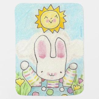 """Cobertor Para Bebe Cobertura """"tão grande"""" do bebê do coelho"""