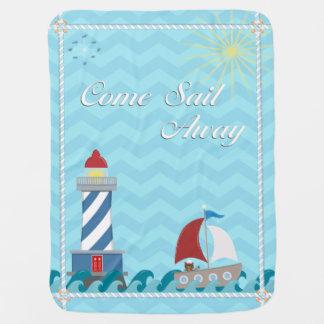 Cobertor Para Bebe *Daytime* ausente da vela náutica do