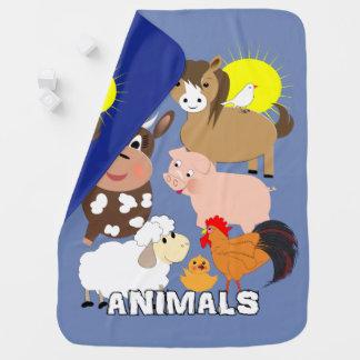 Cobertor Para Bebe Design irrisório do divertimento dos miúdos