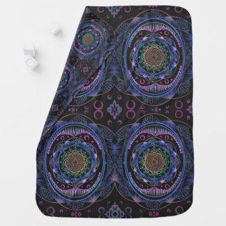 Cobertor Para Bebe Despertando o teste padrão do zen, reiki, curando,